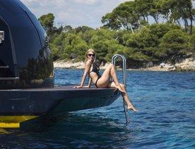 Motor Yacht CAPPUCCINO Joins Charter Fleet