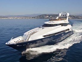 44m superyacht DALOLI now available for Greece yacht charters