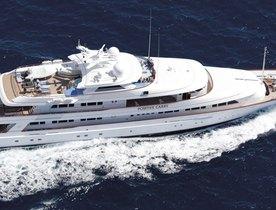 Superyacht 'Positive Carry' Joins Global Charter Fleet