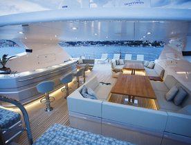 Popular charter yacht BLUSH renamed as ARADOS