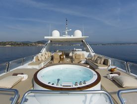 Superyacht 'Lady G II' now available to charter in Greece