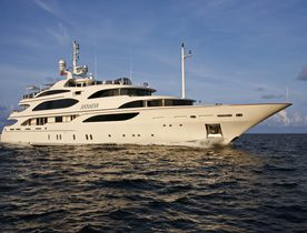 Superyacht 'ANNAEVA' Newly Available to Charter