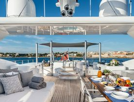 Special offer on Mediterranean charters aboard superyacht 'Her Destiny'