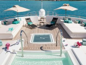 Superyacht SIREN available to charter in the Caribbean