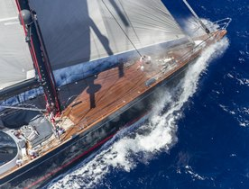 Sailing Yacht SEAHAWK to Return for Loro Piana Caribbean Superyacht Regatta 2016