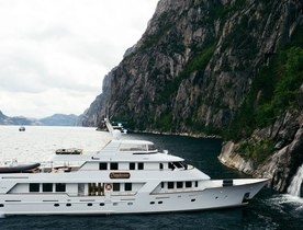 Superyacht DAYDREAM available for Norway charters in Summer 2020