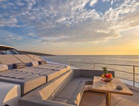 Greece yacht charters available with luxury yacht 'Aqua Libra'