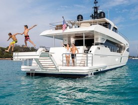 Brand new charter yacht ONEWORLD impresses at Sanctuary Cove International Boat Show