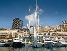 Superyachts Prepare for The Rendezvous in Monaco