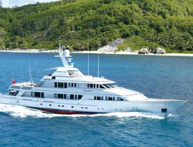 Feadship superyacht TELEOST available in the Caribbean over the holidays