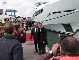 New Sunseeker Superyacht BLUSH Delivered to Eddie Jordan