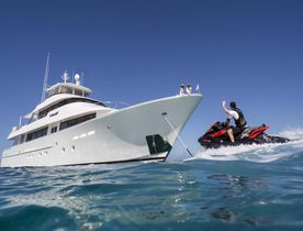 Motor Yacht AMITIÉ Open for Charter in The Bahamas