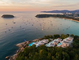 Superyachts head to Thailand for Kata Rocks Superyacht Rendezvous 2018