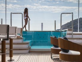 Superyacht AQUILA unveils availability in the Mediterranean for Summer 2019