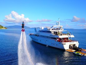 Superyacht MIRAGGIO offers special deal on Bahamas yacht charters