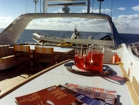 Motor Yacht CAROM Available for Luxury Charters in Ibiza