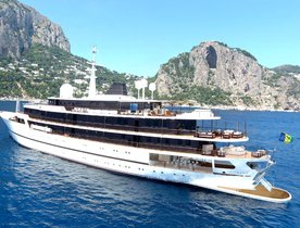 86m classic superyacht CHAKRA available for New Year's Eve yacht charter in the Red Sea