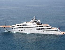 Leonardo DiCaprio Throws Private Party on Superyacht TOPAZ