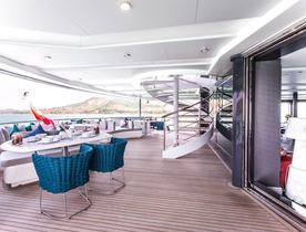 Charter Yacht SALUZI Offers Special Winter Rate In South East Asia