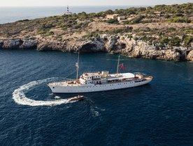 Classic Yacht SHEMARA New to the Charter Market