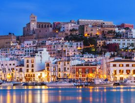 What makes Ibiza one of the hottest superyacht charter destinations?