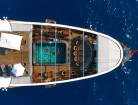 Jackie Onassis' superyacht, 99m Christina O, available to charter at a reduced rate
