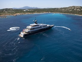 Superyacht SLIPSTREAM Cruising in the French Riviera this Summer