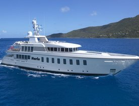 Feadship Motor Yacht HARLE Open for Christmas Charter in the Caribbean
