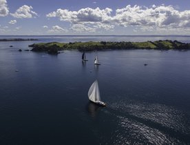 Sailing Yachts Prepare for Millennium Cup in New Zealand