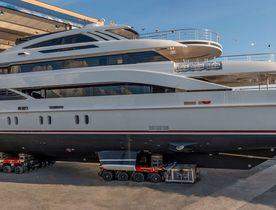 Rossinavi launches 52M FLORENTIA superyacht
