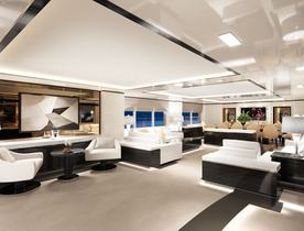 Sneak preview inside brand new charter yacht O'MATHILDE
