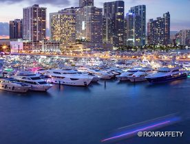 Miami Yacht Show 2019 draws to a close after debuting new location