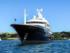 Charter Yacht AQUILA Completes Major Refit