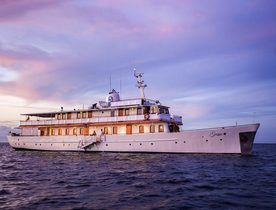 Superyacht GRACE: the iconic charter yacht fit for a princess