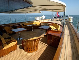 Sailing Yacht 'ANDROMEDA LA DEA' Available for Christmas and New Years