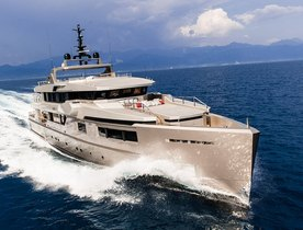 Superyacht 'Cacos V' New to Charter Market in the Mediterranean