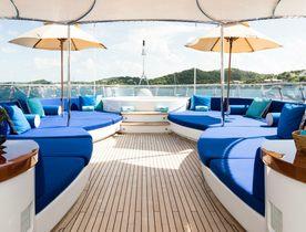 Save up to 15% aboard Turquoise Motor Yacht 'Talisman Maiton'