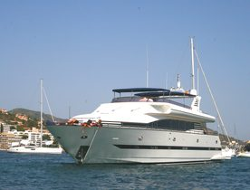 Superyacht 'Smiles of London' Available for Charters in Balearic Islands