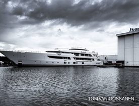 Feadship launches Project 707 as superyacht BOARDWALK