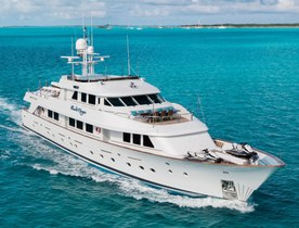 Bahamas Social Distancing yacht charters available with superyacht 'Sweet Escape': Special offer on bookings of 2 weeks+
