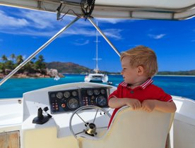The Key To Keeping Kids Entertained on a Caribbean Yacht Charter
