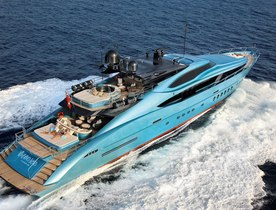 Charter Yacht 'BLUE ICE' - late entrant to Monaco Yacht Show