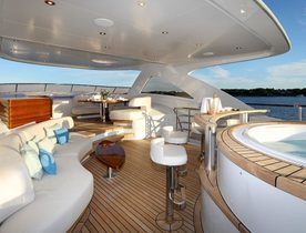 Celebrate the holidays aboard Mudler superyacht SOLIS
