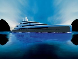 88m superyacht 'Illusion Plus' departs China for the Monaco Yacht Show 2018