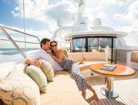 Popular Benetti charter yacht 'Mine Games' renamed 'Lumiere II'