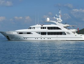 Charter Yacht OASIS Confirmed For Mediterranean Yacht Show 2016