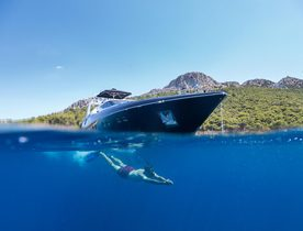 Greece yacht charters available at reduced rate with superyacht AQUARELLA