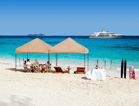 Motor Yacht 'My Seanna' Unveils Last Minute Christmas Deal for St Barts Charter