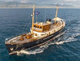 Award Winning Motor Yacht TARANSAY Joins Charter Fleet