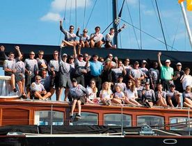 Charter Yacht MARIE Triumphs at Superyacht Cup Palma 2015